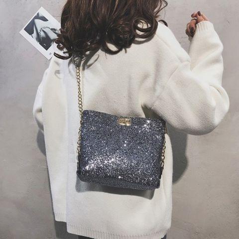 Leisure Fashion Shoulder Bag Messenger Bag (Grey)