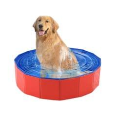 Pet Products Foldable Large Swimming Pool Bathtub for Dog and Cat Teddy,Diameter:80cm High:30cm