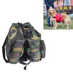 Pet Own Backpack / Oxford Cloth Backpack Portable package for Golden Retriever and other large-and-middle-sized Pets , Chest Measurement:56-90cm, Random Camouflage Color Delivery                                               ()