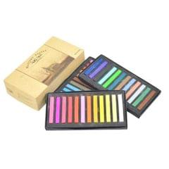 12 / 24 / 36 / 48 Colors Solid Powder Smooth Brush Portable Stick Toner Painting Chalk Set 36 Colors