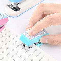 Creative Stationery Deli Geometry Stapler Colorful Fashion Stapler School Office Supplies Small, Size: 4.9*2.2cm, Random Color Delivery