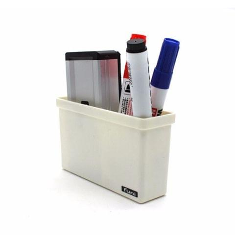 2 PCS Magnetic Plastic Storage Box Drawer Blackboard Chalk Pens Desk Storage Organiser Home Storage Boxes