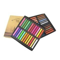 12 / 24 / 36 / 48 Colors Solid Powder Smooth Brush Portable Stick Toner Painting Chalk Set 48 Colors
