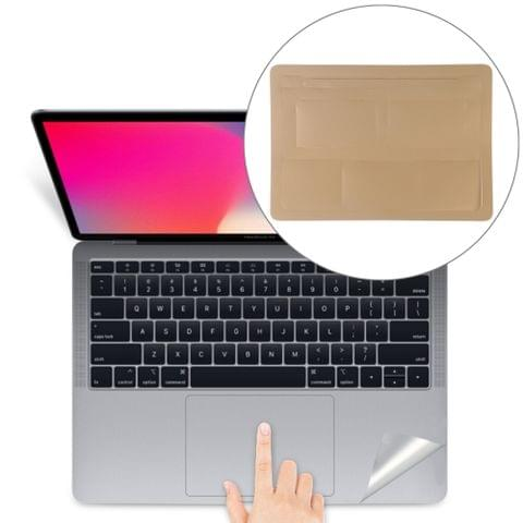 Palm & Trackpad Protector Full Sticker for MacBook 12 Retina (A1534) (Gold)