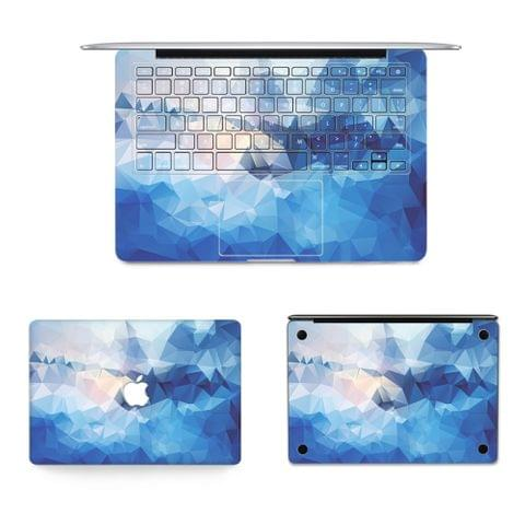 3 in 1 MB-FB16 (699) Full Top Protective Film + Full Keyboard Protector Film + Bottom Film Set for MacBook Pro 13.3 inch DVD ROM(A1278), US Version
