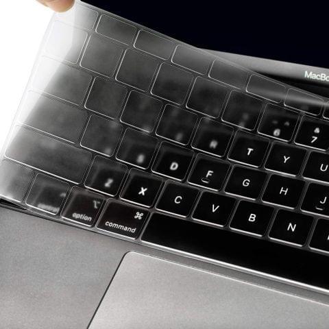 ENKAY TPU Keyboard Protector Cover for MacBook Air 13.3 inch A1932 (2018), EU Version