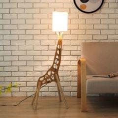 YWXLigh Warm White DIY Assembled Giraffe Floor Lamp (White)