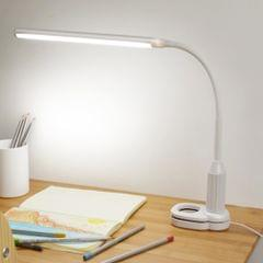 B5 5W 24 LEDs Eye Protect Clamp Clip Table Stepless Dimmable Bendable Touch Control Reading Lamp