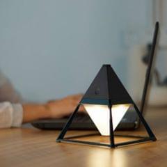 4W Creative Minimalist Stepless Dimming Night Light Decorative LED Reading Table Lamp(Black)