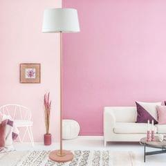 YWXLight Foot Switch Macaron Floor Lamp (Pink)