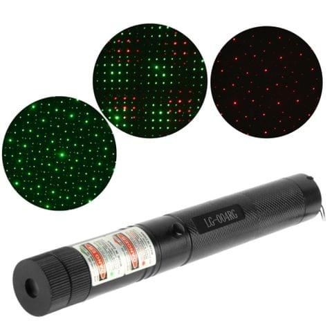 LG-004RG 4mw 532nm Green & 650nm Red Beam Laser Stage Pen