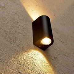 Modern Creativity IP65 Waterproof COB LED Wall Light Hotel Aisle Porch Garden Lighting, Wattage:6W Double Heads(White Light)