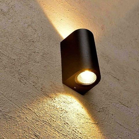 Modern Creativity IP65 Waterproof COB LED Wall Light Hotel Aisle Porch Garden Lighting, Wattage:6W Double Heads(White Light)