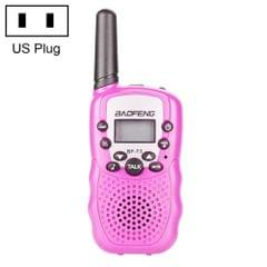 2 PCS BaoFeng BF-T3 1W Children Single Band Radio Handheld Walkie Talkie with Monitor Function, US Plug