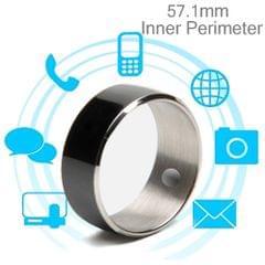 JAKCOM R3F Amorphous Titanium Alloy Smart Ring, Waterproof & Dustproof, Health Tracker, Wireless Sharing, Push Message, Inner Perimeter: 57.1mm(Black)