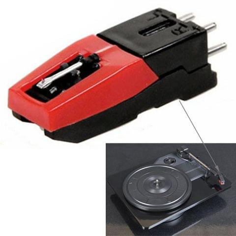 Stereo stylus Needle for Vinyl LP USB Turntable(Black)