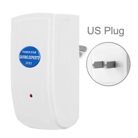 US Plug Indoor Energy Saver Power Electricity Saving Experts Energy Save Equipment(White)