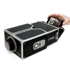 Cardboard Smartphone Projector / DIY Mobile Phone Projector Portable Cinema