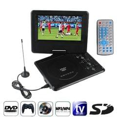 7.5 inch TFT LCD Screen Digital Multimedia Portable DVD with Card Reader & USB Port, Support TV (PAL / NTSC / SECAM) & Game Function, 270 Degree Rotation, Support SD / MS / MMC Card