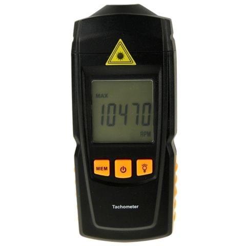 BENETECH GM8905 Handheld Digital Laser Tachometer Range 2.5-99999RPM                                               ()