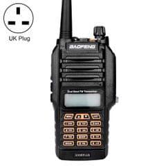 BaoFeng BF-UV9Rplus 16W Waterproof Dual Band Radio Handheld Antenna Walkie Talkie, UK Plug