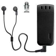 WR-16 Mini Professional 8GB Digital Voice Recorder with Belt Clip, Support WAV Recording Format(Black)