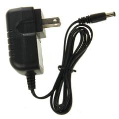 10V Output 500mA US Plug Universal Power Charger Adapter for Walkie Talkie Charger(Black)