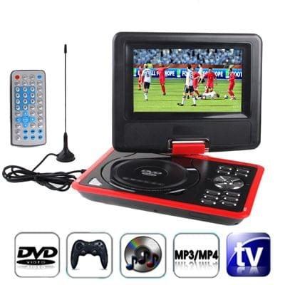 7.5 inch TFT LCD Screen Digital Multimedia Portable DVD with Card Reader & USB Port, Support TV (PAL / NTSC / SECAM) & Game Function, 180 Degree Rotation, Support SD / MS / MMC Card