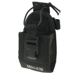 MSC20B Universal Nylon Carry Case Series Holster with Strap for Walkie Talkie