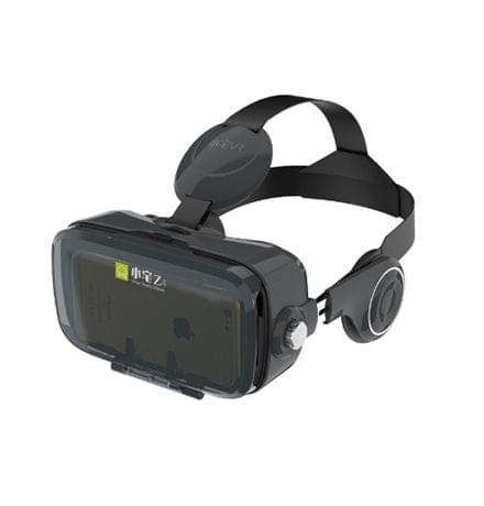 BOBOVR Z4 3D Cardboard Helmet Virtual Reality VR Glasses Headset Stereo Box for Mobile Phone(Black)