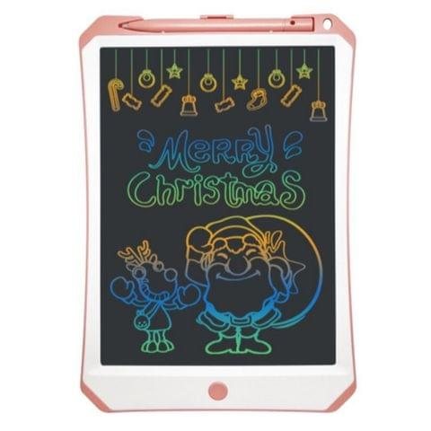 11 inch LCD Color Screen Writing Tablet High Brightness Handwriting Drawing Sketching Graffiti Scribble Doodle Board for Home Office Writing Drawing(Pink)