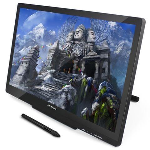 HUION Kamvas Series GT-220 V2 21.5inch 5080LPI Graphics Drawing Tablet Digital Display for Windows / Mac OS, with Digital Pen (Black)