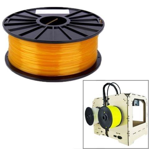 PLA 1.75 mm Transparent 3D Printer Filaments(Orange)