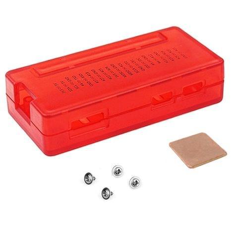 LandaTianrui LDTR-PJ012 ABS Protective Case with Heat Sink for Raspberry Pi Zero W / Zero(Red)