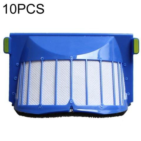 10 PCS Universal Replacement Robotic Vacuum Cleaner HEPA Filter for irobot 6 Series