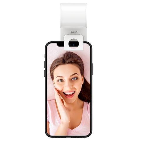 Benks L24 Mobile Phone Selfie Fill-in Light Holder for Live Broadcast (White)
