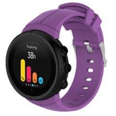 Silicone Replacement Wrist Strap for SUUNTO Spartan Ultra (Purple)