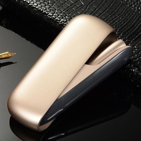 Varnish Series Electronic Cigarette Protective Case for IQOS 3.0(Black Grey)