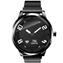 Lenovo Watch X  Milanese Stainless Steel Strap Smart Watch, Support Heart Rate Monitor / Sleep Monitor / Gesture Photo / Sedentary Reminder /  Sport Tracking (Black)