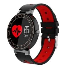 L8 0.95 inch Color OLED Touch Screen Bluetooth 4.0 Smart Bracelet, IP67 Waterproof, Support Multiple Sports Mode / Blood Pressure Monitor / Heart Rate Monitor / Sleep Monitor / Information Reminder / Sedentary Reminder, Compatible with both Android and iOS System(Red)