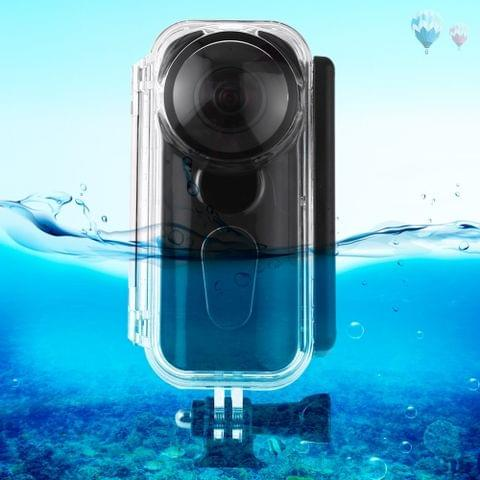 PULUZ 5m Underwater Waterproof Housing Protective Case for Insta360 ONE X, with Buckle Basic Mount & Screw	    		        	