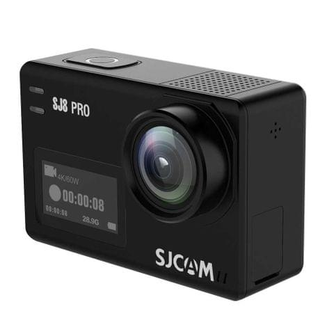 SJCAM SJ8 Pro 4K 2.33 inch Touch Screen 12 MP WiFi Sports Camcorder with Waterproof Case,  Ambarella H22 S85, 170 Degrees Wide Angle Lens, 30m Waterproof(Black)