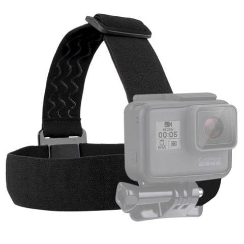 PULUZ Elastic Mount Belt Adjustable Head Strap for GoPro  NEW HERO /HERO6   /5 /5 Session /4 Session /4 /3+ /3 /2 /1, Xiaoyi and Other Action Cameras                                               ()