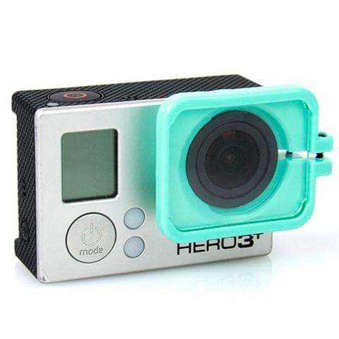 TMC Lens Anti-exposure Protective Hood for GoPro Hero 4 / 3+(Green)