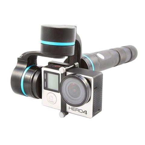 FY-G4 3 Axis Brushless Handheld Gimbal Stabilizer for GoPro HERO4 / 3+ /3(Blue)