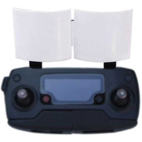 For DJI Mavic Pro & Spark Foldable Remote Control Paraboloid Signal Booster(Silver)