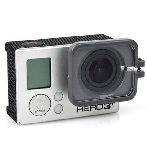 TMC Lens Anti-exposure Protective Hood for GoPro Hero 4 / 3+(Grey)
