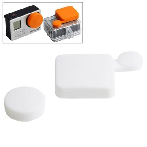 TMC Silicone Cover Set for GoPro Hero 4 / 3+(White)
