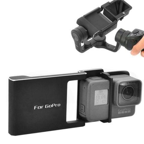 DJI Mobile Gimbal Switch Mount Plate for GoPro HERO5 /4 /3+ /3(Black)