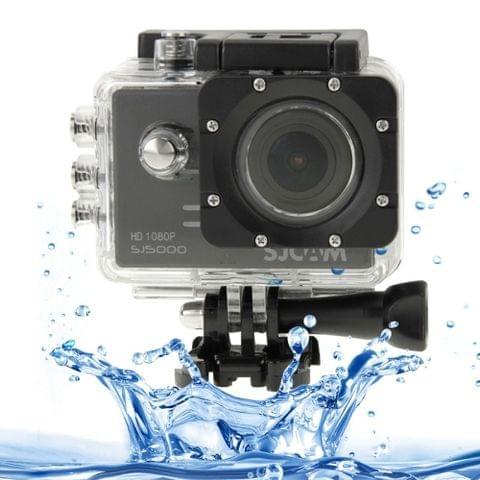 SJCAM SJ5000 Novatek Full HD 1080P 2.0 inch LCD Screen Sports Camcorder Camera with Waterproof Case, 14.0 Mega CMOS Sensor, 30m Waterproof(Black)